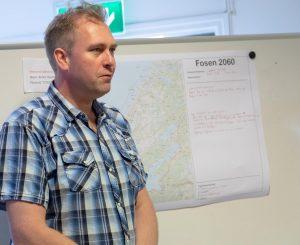 Jon Erik Vollan (Indre Fosen kommune).Fosenbrua - møte Årnes (Åfjord) 07-05-18