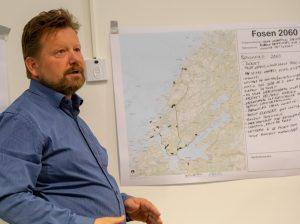 Ove Vollan (banksjef Sparebank1 SMN). Fosenbrua - møte Årnes (Åfjord) 07-05-18