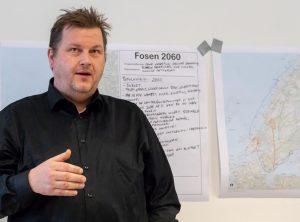 Ogne Undertun (ordfører Bjugn kommune). Fosenbrua - møte Årnes (Åfjord) 07-05-18